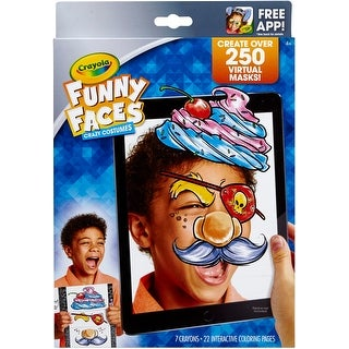 Crayola Color Alive Funny Faces-Crazy Costumes