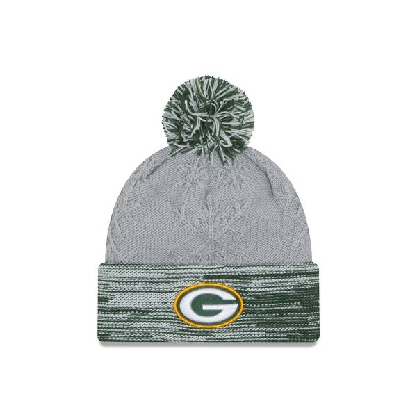 555f198e7aa Shop NFL Green Bay Packers Women s Snow Crown Redux Knit Beanie