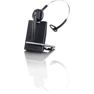 """""""Sennheiser 506414 Sennheiser D 10 USB Headset - Mono - Wireless - DECT - 590.6 ft - 150 Hz - 6.80 kHz - Over-the-head,"""