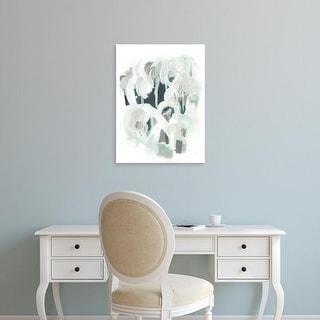 Easy Art Prints June Erica Vess's 'Sage & Slate I' Premium Canvas Art