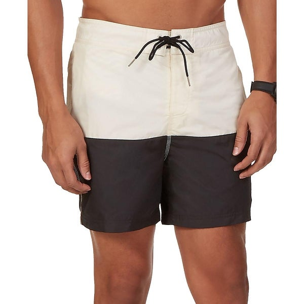 Nautica Mens Colorblock Board Shorts Swim Trunks