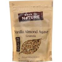 Back To Nature - Vanilla Almond Agave Granola ( 6 - 11 OZ)