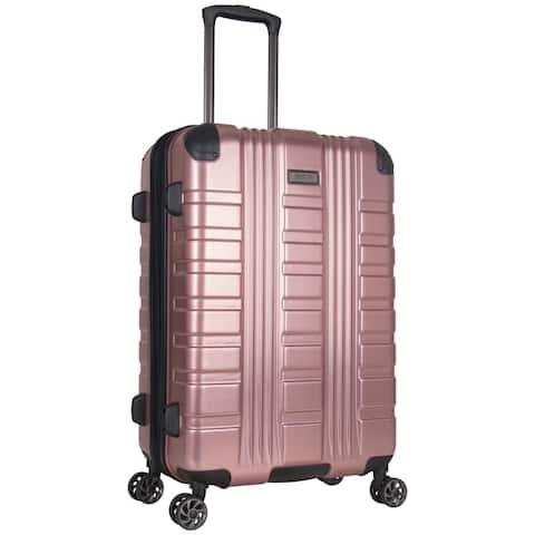 Kenneth Cole Reaction Scotts Corner 24-inch Expandable 8-Wheel Spinner Hardside PET Suitcase