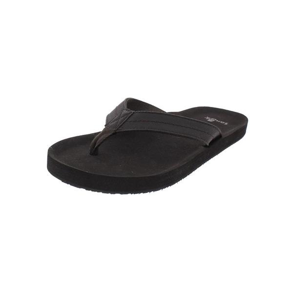 Sanuk Mens Flip-Flops Casual Comfort Insole
