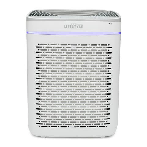 Lifestyle by Focus LS-AP200 PURA Air Purifier with HEPA Filter & Light