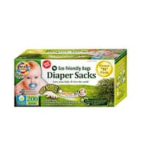 Eco-Friendly 1106764 Disposable Diaper Scented Bags, Pack of 200