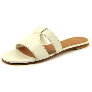 Cole Haan Mesi Sandal Open Toe Leather Slides Sandal