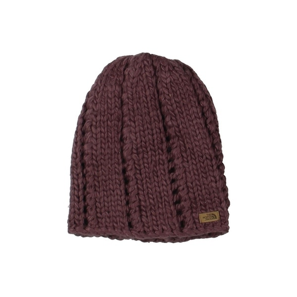 8ba40607b43 Shop The North Face Womens Beanie Hat Chunky Knit Woven - O S - Free  Shipping On Orders Over  45 - Overstock - 25696948