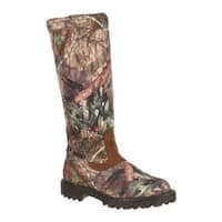 Rocky Men's Low Country Waterproof Snake Boot RKS0232 Mossy Oak Break Up Country Leather/Synthetic