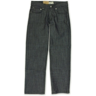 Link to Ecko Unltd. Mens Core Relaxed Raw Coastal Straight Leg Jeans Similar Items in Pants