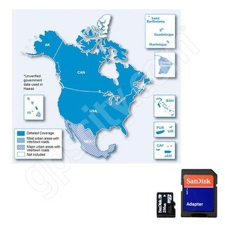 Garmin 010-11227-06-N nuMaps North America NT 2015 Navigational Software