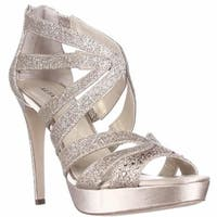 A35 Cymball Sparkle Dress Sandals, Gold