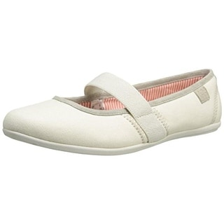 Helly Hansen Womens Symphony Mary Janes Canvas Suede Trim