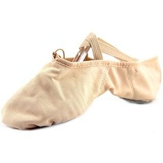 Capezio Juliet Women Round Toe Canvas Pink Ballet Flats