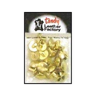 "LF Chicago Screw Post 1/4"" 10pc Brass Solid"