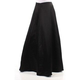 BLONDIE Womens New 1268 Black Full-Length A-Line Prom Skirt 9 Juniors B+B