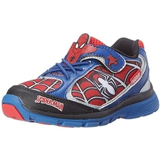 Stride Rite Ultimate Spider-Man Casual Shoes Light-Up Infants - 6.5 wide (e)