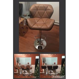 Furniture Of America Dimone Modern Adjustable Swivel Bar