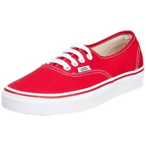 Vans Footwear Classics Men's Authentic Sneaker 7 Red