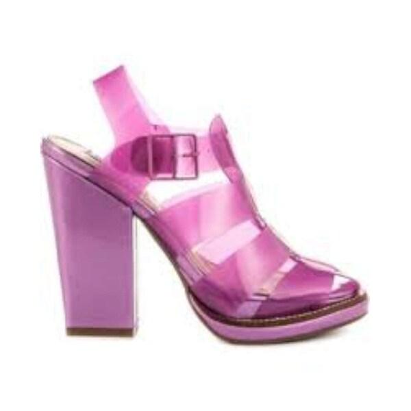 2e5a17edd8 Shop Steve Madden Womens HI-TOP CAGED Open Toe Ankle Strap Classic ...