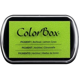 ColorBox Pigment Inkpad Full Size Lemon Grass