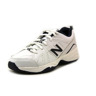 New Balance KX624 Youth W Round Toe Leather White Sneakers