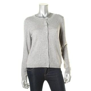 Private Label Womens Cashmere Button-Down Cardigan Sweater - L