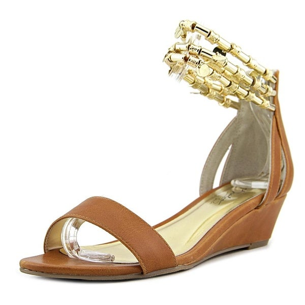 Thalia Sodi Lordes Women Open Toe Synthetic Wedge Sandal