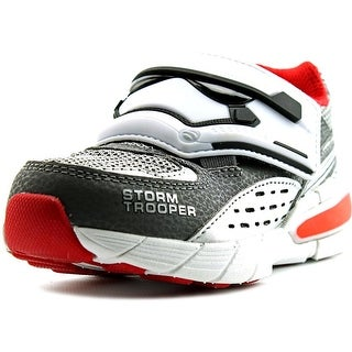 Star Wars by Stride Rite Hyperdrive Storm Trooper Toddler Gray Sneakers