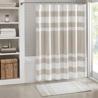 Porch & Den Niantic Shower Curtain with 3M Treatment