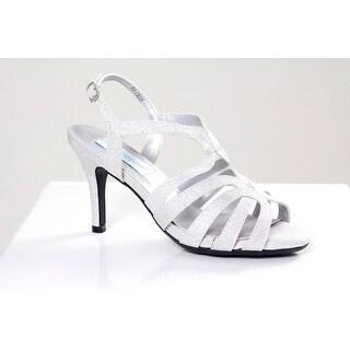 Strappy Glitter Open Toe Sandal