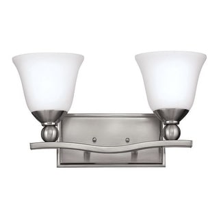 "Hinkley Lighting H5892 2 Light 16"" Width Bathroom Vanity Light from the Bolla Collection"