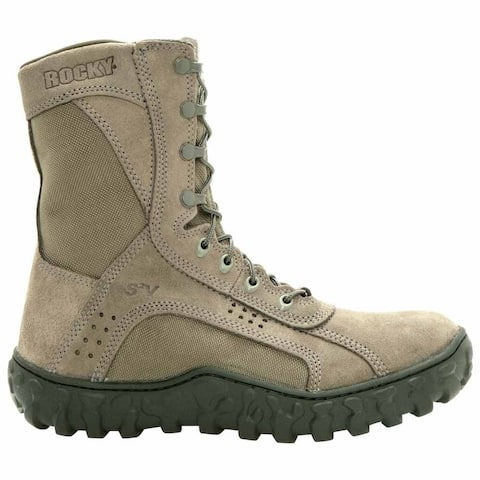 Rocky S2v 8 Inch Work Mens Work Safety Shoes Casual - Green
