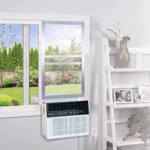 Soleus Air Sliding Window Kit, Reinforced Aluminum Works Exclusive with The Soleus Saddle Air Conditioner (AC Not Included)