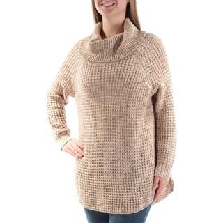 AMERICAN RAG $64 Womens New 2163 Brown Cowl Neck Long Sleeve Sweater M B+B