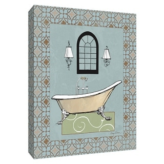 "PTM Images 9-154743  PTM Canvas Collection 10"" x 8"" - ""Chandelier Bath IV"" Giclee Tubs Art Print on Canvas"