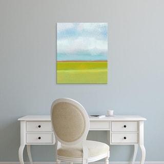 Easy Art Prints Jan Weiss's 'Meadow I' Premium Canvas Art