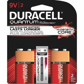 Duracell Quantum 9V 2Pk Battery