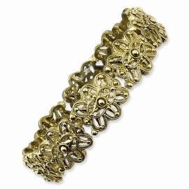 Brass Stretch Bracelet