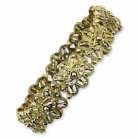 Brass Stretch Bracelet