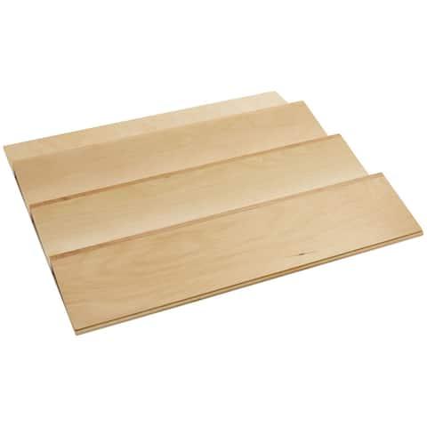 "Rev-A-Shelf 4SDI-24 4SDI Series 22"" Trimmable Spice Rack Drawer Insert - Natural Wood"