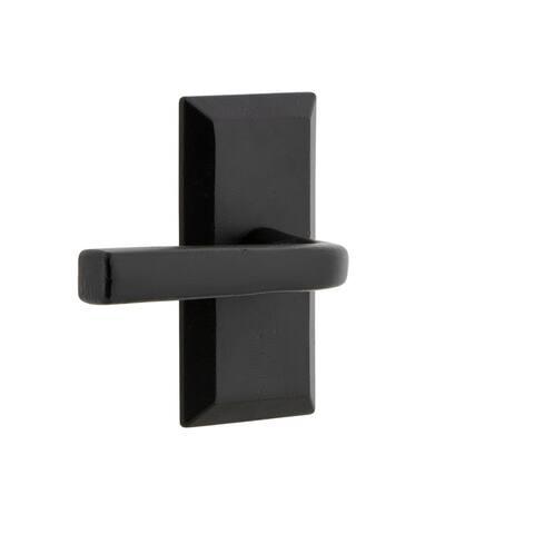 Ageless Iron VALLAN_SD Vale - Rustic Cast Iron Non-Turning One-Sided - Black Iron