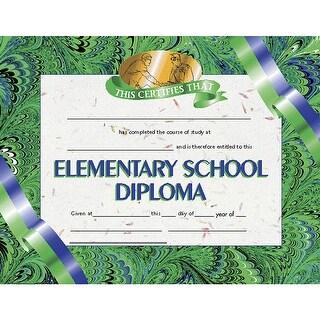 (6 Pk) Diplomas Elementary School 8.5X11 30 Per Pk