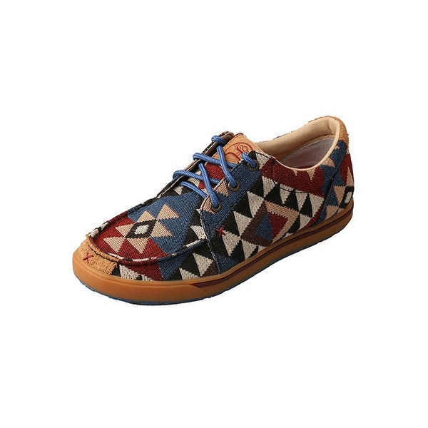 Twisted X Casual Shoes Womens Hooey Graphic Multi-Color WHYC001
