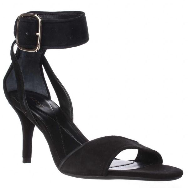 A35 Casedy Ankle Strap Dress Sandals, Black - 8.5 us