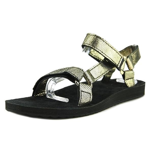 Teva Original Universal Radiant Women US 8 Black Sport Sandal