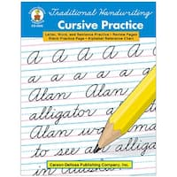 Traditional Handwriting Cursive Practice Book