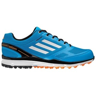 Adidas Men's Adizero Sport II Solar Blue/White/Black Golf ShoesQ46791