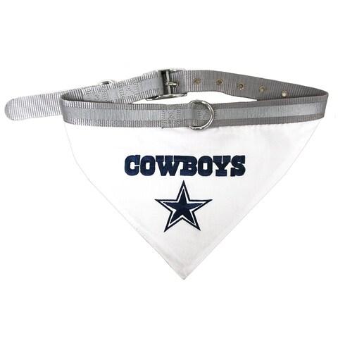 NFL Dallas Cowboys Pet Collar Bandana For Pets