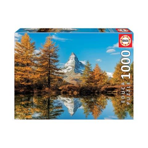 Matterhorn Mountain in Autumn - 1000 Pcs